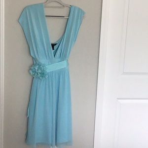 WHBM convertible fit and flare dress 16